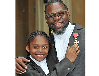 Buckingham Palace gig for a dapper Jazzie B