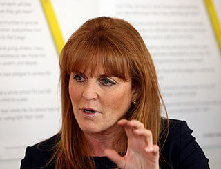 Sarah Ferguson begins stint as radio co-host