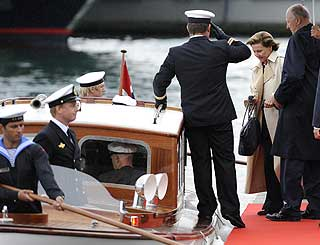 Norwegian royals take to the seas in Portugal