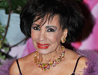 Shirley Bassey back at home after operation
