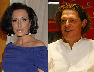 Nancy Dell'Olio reportedly dating celebrity chef