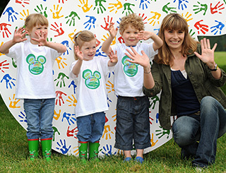 Tana Ramsay and co launch kiddies green initiative