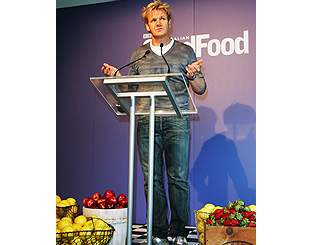 Gordon Ramsay helps launch Oz food and wine fest