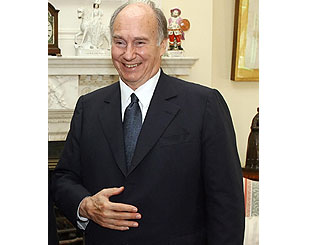 Queen to host banquet for Aga Khan on Monday