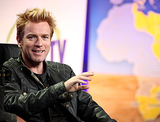 Ewan McGregor gets all revved up over show