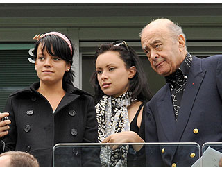 Camilla Al Fayed gets pal Lily Allen a Harrods discount