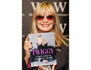 Twiggy pens guide to middle-age happiness