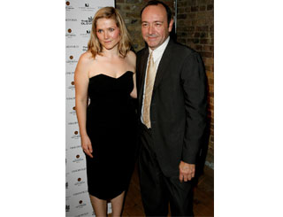 Kevin Spacey and Spaced's Jessica Hynes unveil play