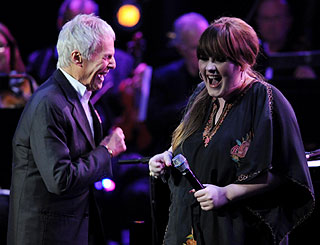Adele hits all the right notes with Burt Bacharach