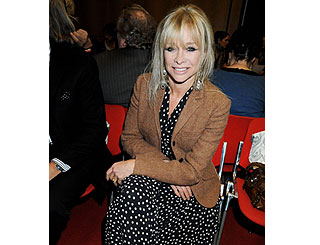 Jo Wood maintains high profile on London scene