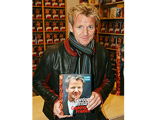 Gordon shows how to impress pals with new cook book