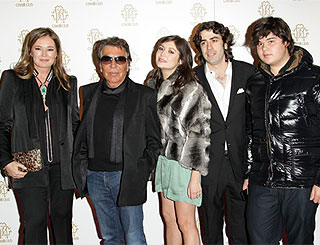 Family affair at Cavalli Club launch
