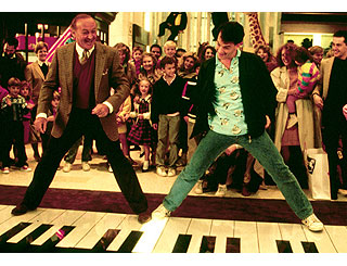Tom Hanks' Big piano on interactive museum display