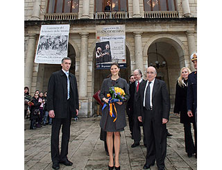 Sweden's Princess Victoria takes in Messina