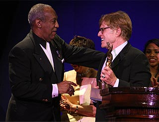 Robert Redford honoured by Bill Cosby