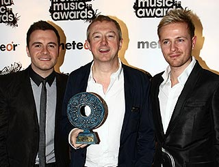 Westlife snap up Irish music gong for tenth year in a row