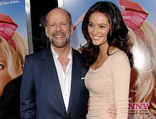 Buzz in the US has it Bruce Willis is to wed model love Emma