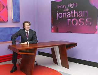 A streamlined Jonathon Ross makes Tussauds debut