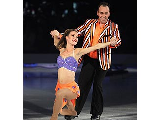 Todd Carty gets his skates on for 'Dancing On Ice' tour