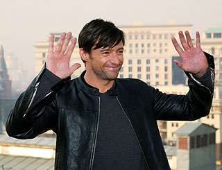 Hugh Jackman Twitters as he takes X-Men flick to Moscow
