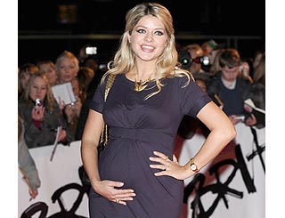 It's a boy for first time mum Holly Willoughby