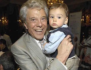 Lionel Blair's grandson helps star mark 60 years in showbiz