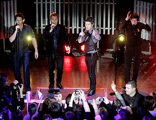 Take That embark upon record-breaking Circus Live tour