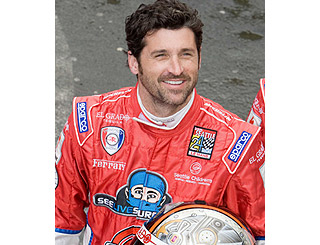 Dr McDreamy hits the track at Le Mans