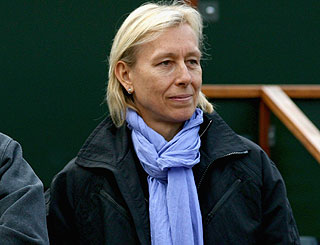 Martina Navratilova sued by former lover for millions