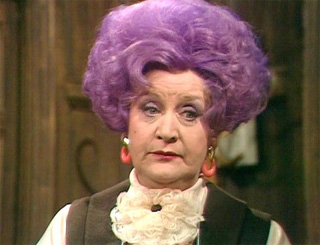 'Marvellously funny' Mollie Sugden dies aged 86