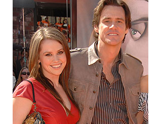Jim Carrey reveals he is to become a first-time grandad