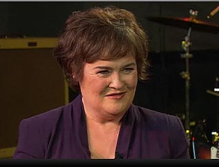 'I don't want it to end,'  says a glam Susan Boyle on US TV