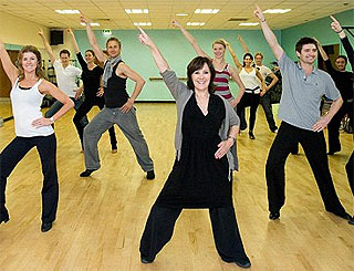 Government dance role for Strictly's Arlene to help nation get fit