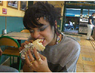 Kebab-munching Lily Allen's designer watch up for grabs online