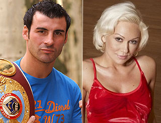Joe Calzaghe's 'Strictly' partnership with dancer heats up