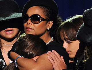 Janet Jackson speaks out for first time since Michael's death