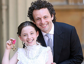 Daughter Lily inspired Michael Sheen to vamp up for Twilight