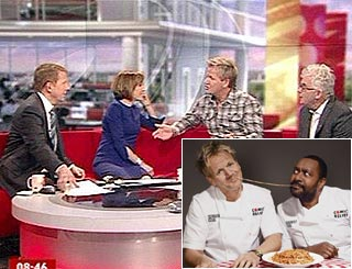 TV host hits nerve after asking Gordon if he still cooks