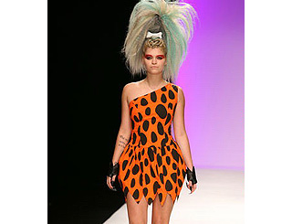 Pixie heads back to the Stone Age at London Fashion Week