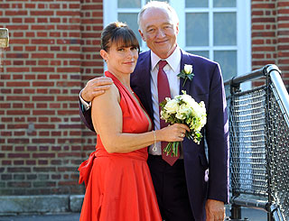Former mayor Ken Livingstone ties the knot at London Zoo