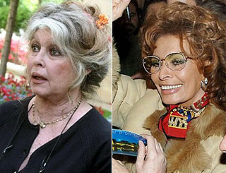Brigitte Bardot appeals to birthday 'twin' Sofia Loren to cut out fur