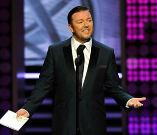 Extras star Ricky Gervais to host Golden Globes