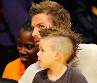 Cruz Beckham follows dad's trendsetting looks