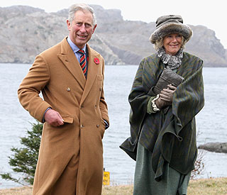 Prince Charles takes Camilla to land of her ancestors