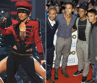 Cheryl Cole in fight for number one with 'X Factor's JLS