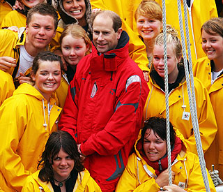 Reminder of pre-university days for Prince Edward