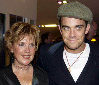 Robbie Williams' mum confirms he's engaged