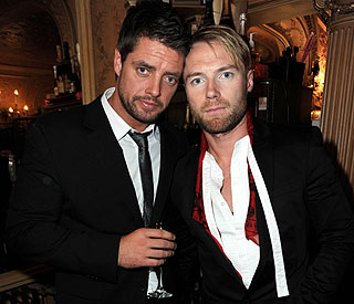 Ronan Keating leads musical tribute to Stephen Gately