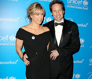David Duchovny and Tea Leoni are back together