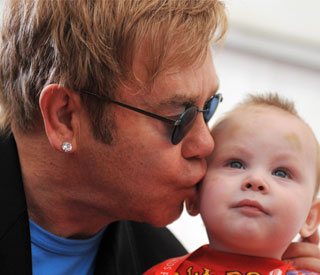 Elton John and David Furnish to fight adoption laws